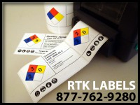 NFPA label printer
