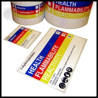 nfpa labels custom print